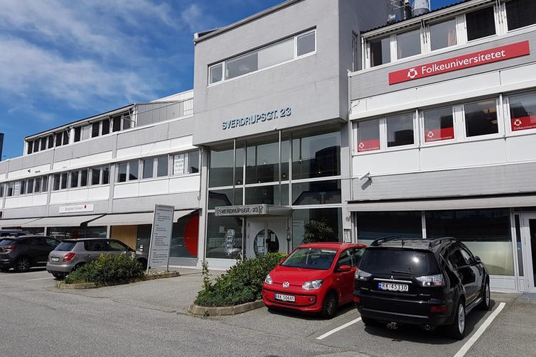 Bilde av kontorbygningen Sverdrups gate 23.